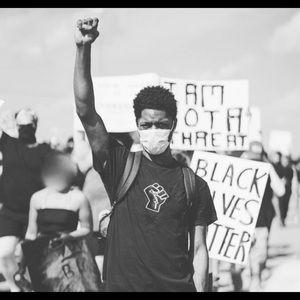 """Black Lives Matter"" Embroidered T-Shirt"